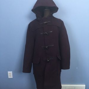 Vintage Gloverall Wool-Blend Toggle Duffle Coat